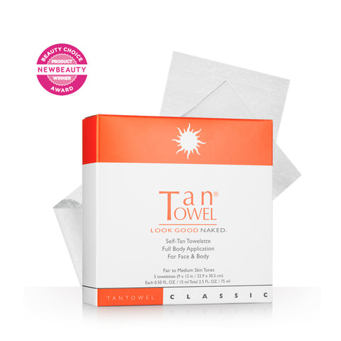 Tan Towel Classic Full Body Self Tanning Towelettes by TanTowel | RxSkinCenter Day Spa Overland Park, Kanas