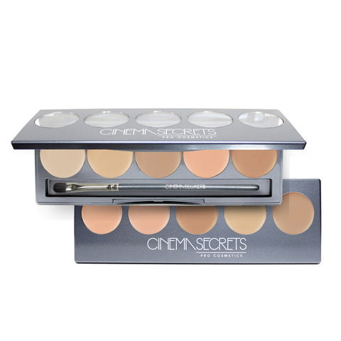 Cinema Secrets Ultimate Foundation 5-in-1 Pro Palette by Cinema Secrets | RxSkinCenter Day Spa Overland Park, Kanas