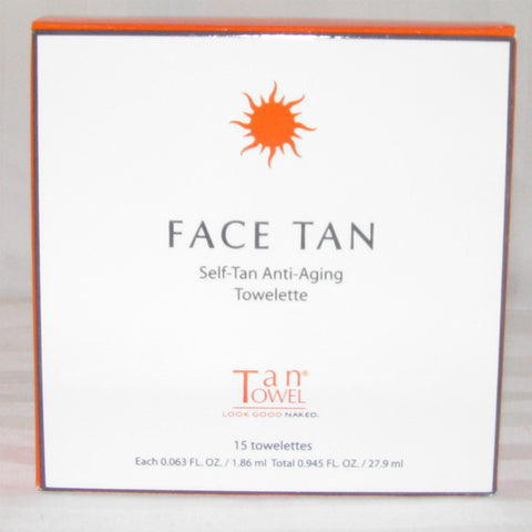 Tan Towel Face Tan Anti-Aging Self Tan Towelettes by TanTowel | RxSkinCenter Day Spa Overland Park, Kanas