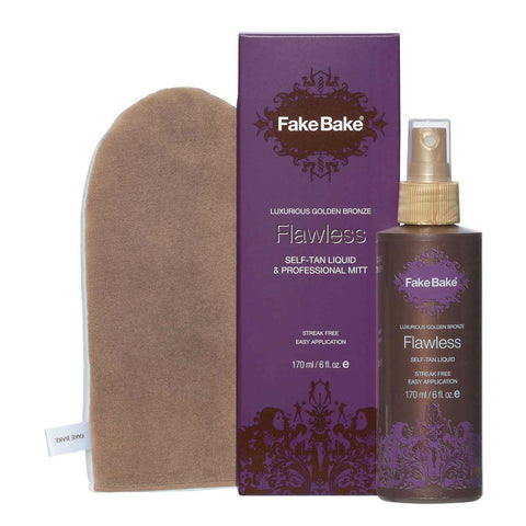 Fake Bake Flawless Self-Tanning Liquid with Mitt