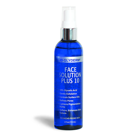 GlyDerm Face Solution Plus 10
