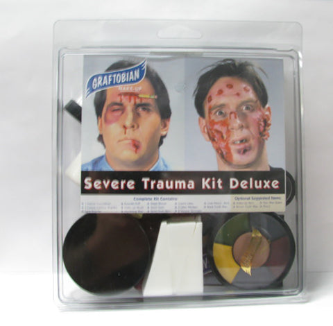 Graftobian Professional Severe Trauma Deluxe Makeup Kit