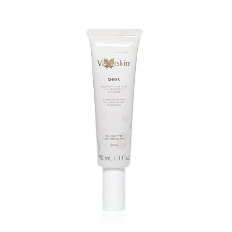 Vivier Skin Sheer SPF 45 Sunscreen Lotion by VivierSkin | RxSkinCenter Day Spa Overland Park, Kanas