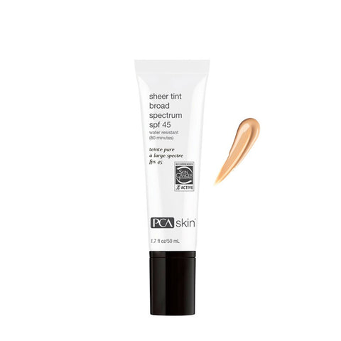 PCA SKIN Sheer Tint Broad Spectrum SPF 45 by PCA Skin | RxSkinCenter Day Spa Overland Park, Kanas