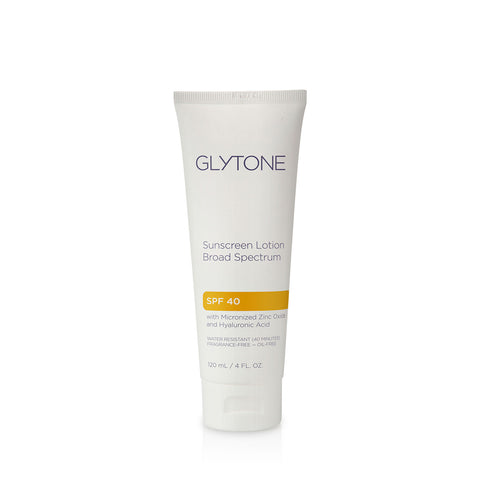 Glytone Sunscreen Lotion Broad Spectrum SPF 40 by Glytone | RxSkinCenter Day Spa Overland Park, Kanas