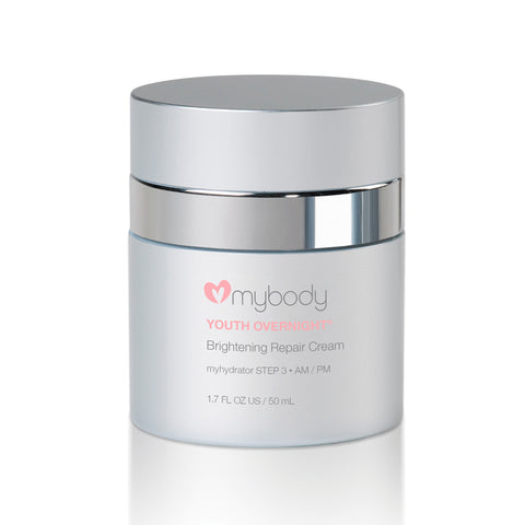 mybody Youth Overnight Anti-Aging Night Repair Cream by mybody Night time Moisturizer | RxSkinCenter Day Spa Overland Park, Kanas
