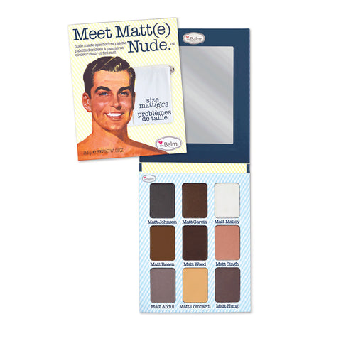the Balm Meet Matt(e) Nude Cream Eyeshadow Palette by RxSkinCenter | RxSkinCenter Day Spa Overland Park, Kanas