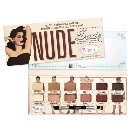 the Balm Nude Dude 12 Color Eyeshadow Palette by the Balm | RxSkinCenter Day Spa Overland Park, Kanas