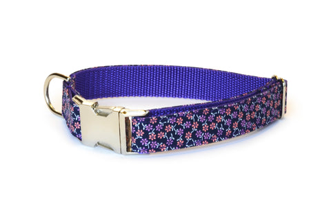 The Fiona Bloom Collar and Leash Set w/ Coral Bloom