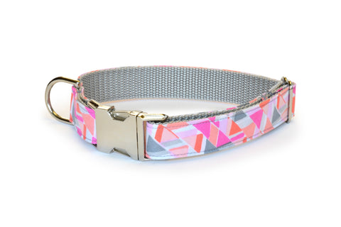 The Emmy Bloom Dog Collar w/ Carnation Bloom