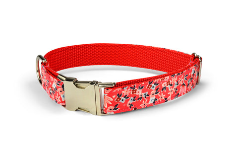 New! Garden Girl Dog Collar