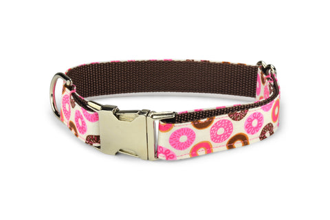 Donut Lover Bow Tie Dog Collar
