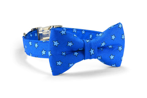 Super Star Bow Tie Dog Collar