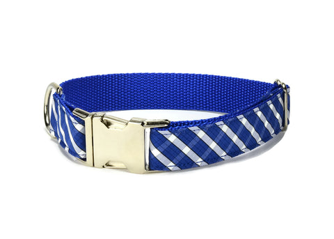 The Brooklyn Plaid Bow Tie Collar and Leash Set