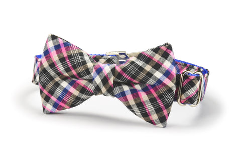 The Fairmont Bow Tie Dog Collar