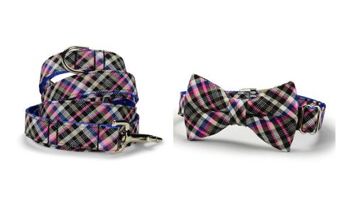 New! The Fairmont Bow Tie Collar and Leash Set