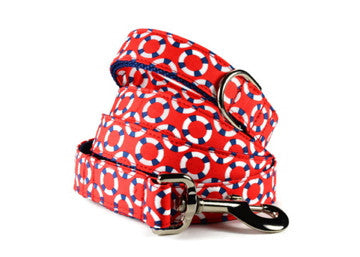 Red Lifesaver Dog Leash