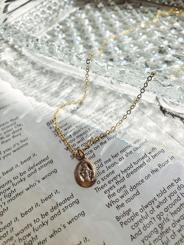 Virgin Mary necklace | sacred