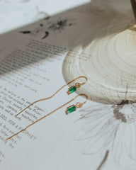 IZZY Emerald Earrings