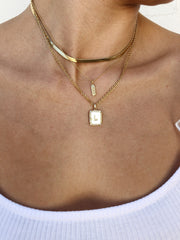 charm necklace | chill
