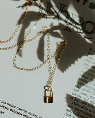 Lock It Up Small Necklace