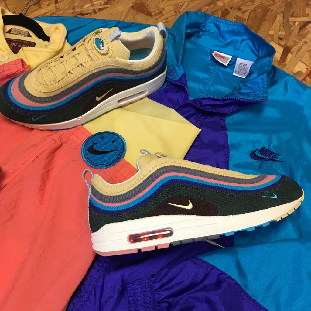 huge discount 869d4 b7247 Sean Wotherspoon Nike Airmax 97 1 Custom Side Bag 1 of 1