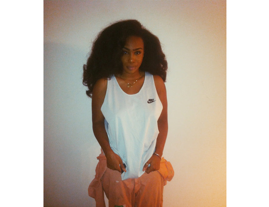 SZA wearing Frankie Collective at Fortune Sound Club