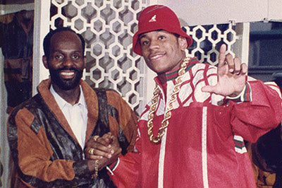 Dapper Dan and LL Cool J