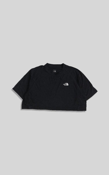 Vintage North Face Crop Collared Tee