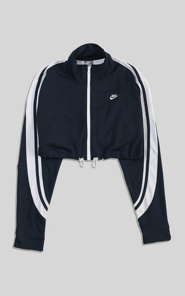 Rework Nike Cinched Crop Jacket - YXXL
