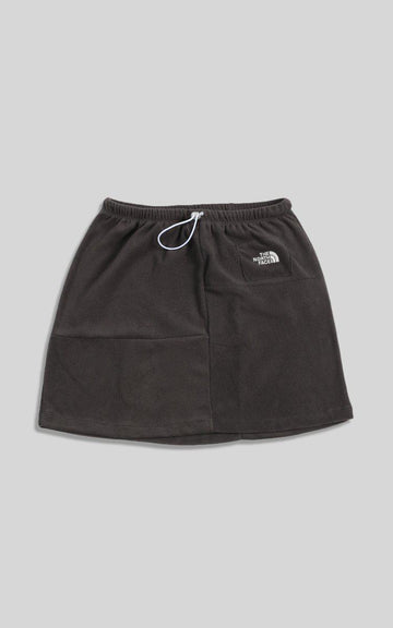Vintage Rework North Face Patchwork Skirt - M