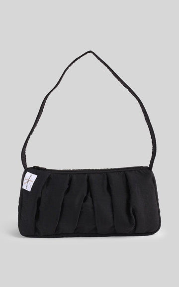 Vintage Rework Calvin Klein Pleated Handbag