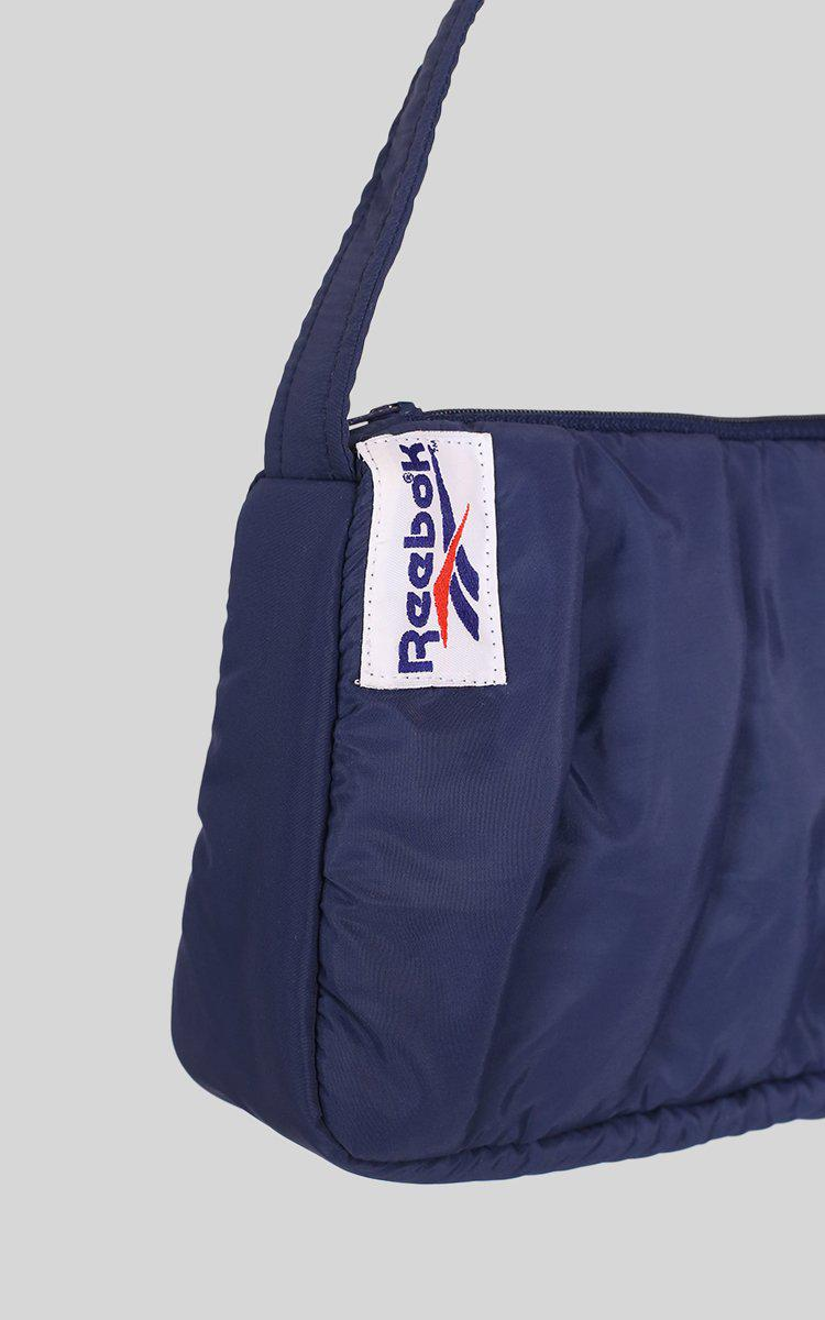 Vintage Rework Reebok Pleated Handbag