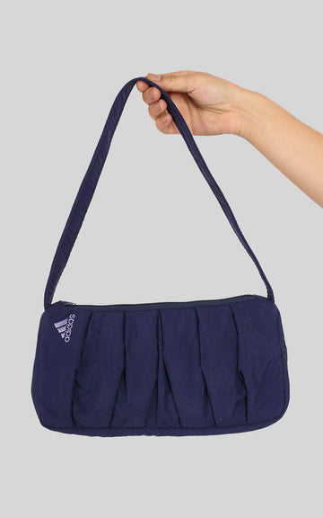 Vintage Rework Adidas Pleated Handbag