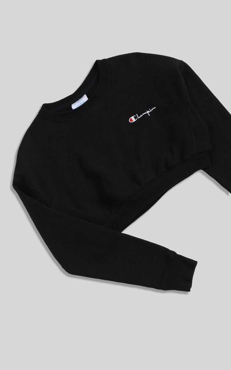 Vintage Champion Crop Sweatshirt - XS