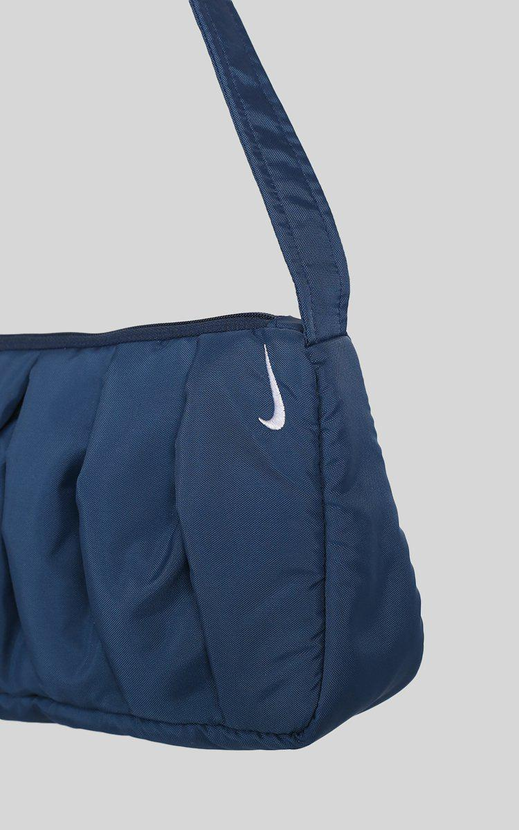 Vintage Rework Nike Pleated Handbag