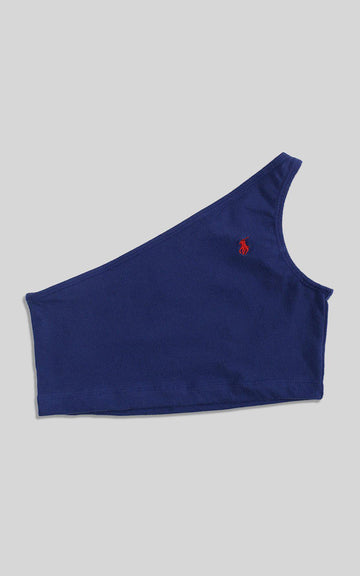 Rework Polo One Shoulder Tank - S