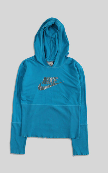 Rework Nike Hooded Shirt - L