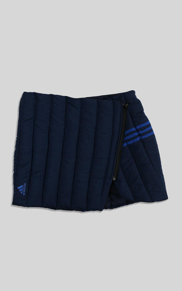 Rework Adidas Quilted Puffer Skirt - XL