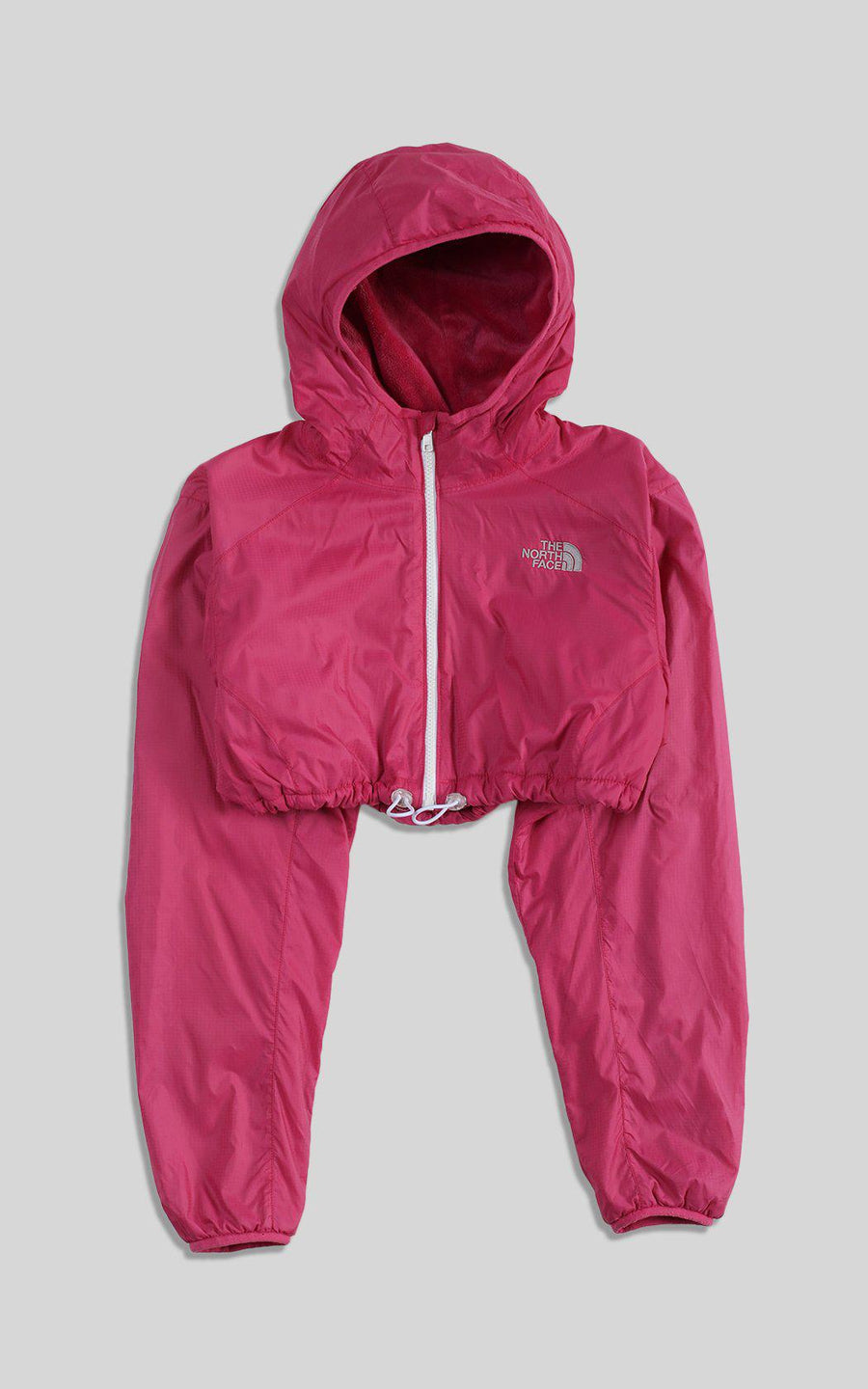 Rework North Face Crop Jacket