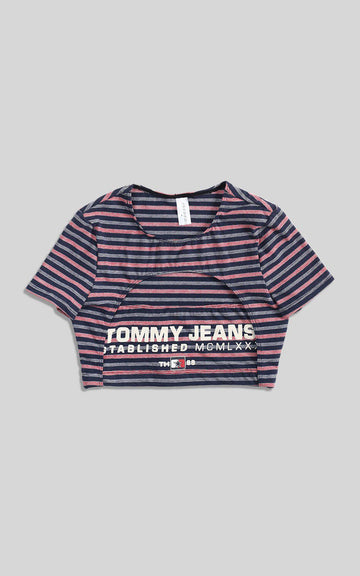 Rework Tommy Cut Out Tee - S