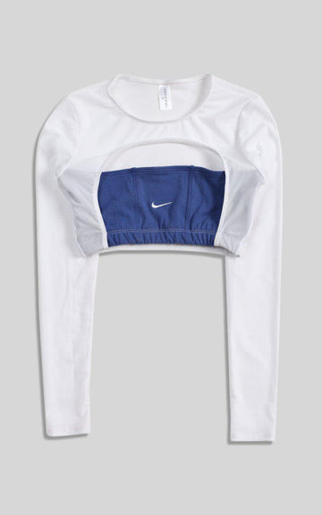 Vintage Rework Nike Cut Out Long Sleeve Tee - S, M