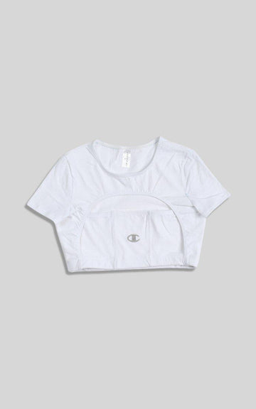 Vintage Rework Champion Cut Out Tee - M
