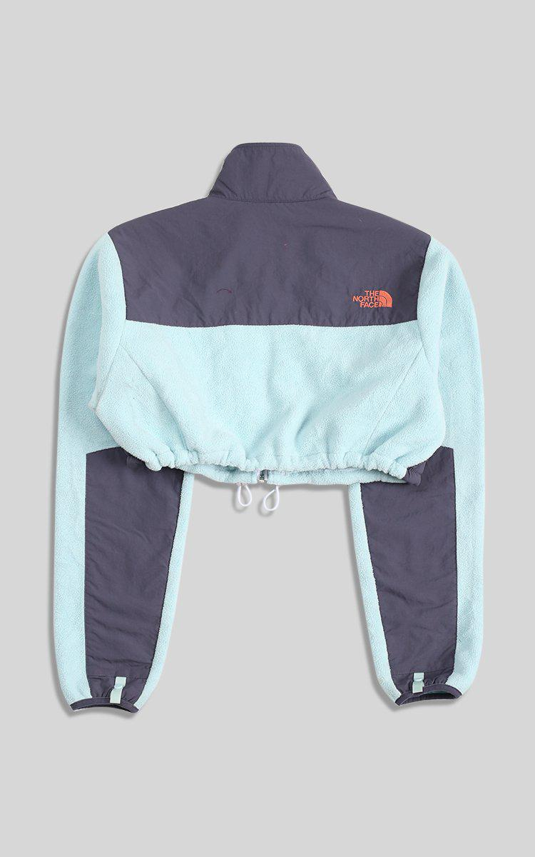 Vintage Rework North Face Cinched Crop Fleece