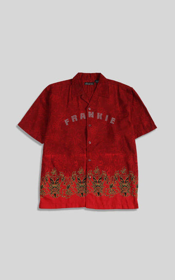 Vintage Frankie Rhinestone Button Up Shirt