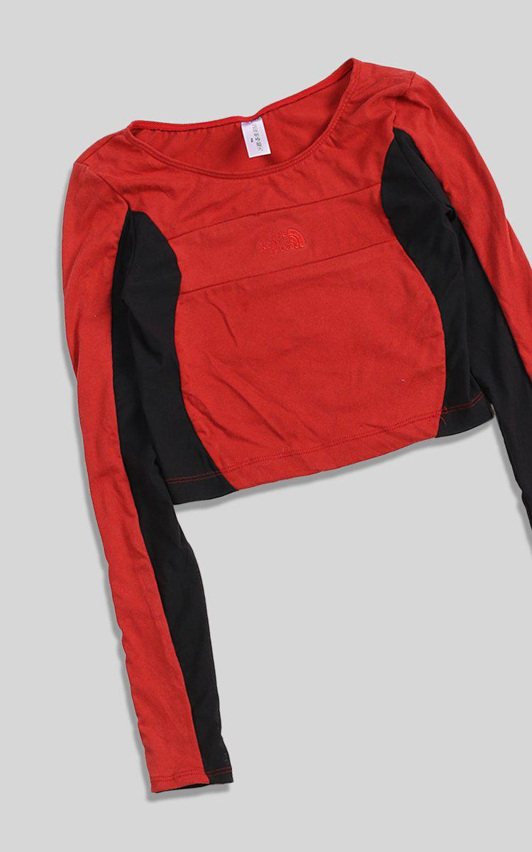 Vintage Rework North Face Wave Mesh Top - XS