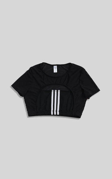 Vintage Rework Adidas Cut Out Tee - L