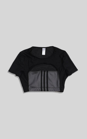 Vintage Rework Adidas Cut Out Tee - XS, S
