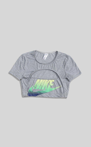 Vintage Rework Nike Cut Out Tee - S