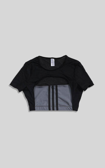 Vintage Rework Adidas Cut Out Tee - S, M, L
